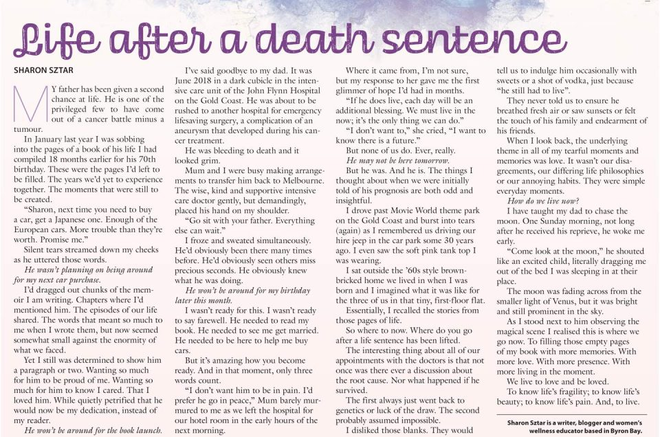 Life after a death sentence
