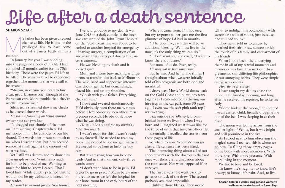 Life after a death sentence