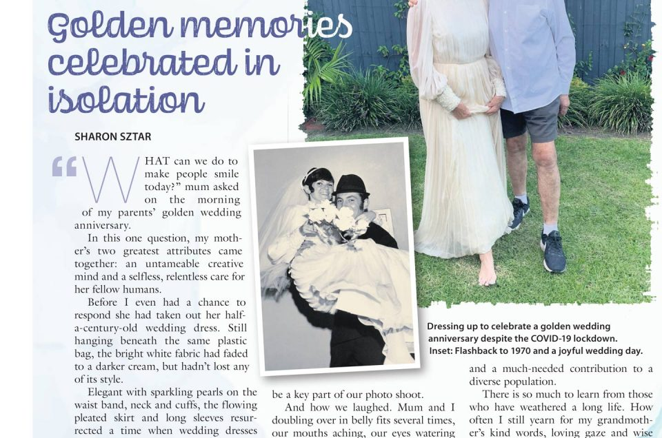Golden Memories Celebrated in Isolation
